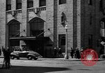 Image of hotel staff strike San Francisco California USA, 1937, second 9 stock footage video 65675078159