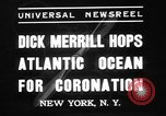 Image of Dick Merill New York United States USA, 1937, second 5 stock footage video 65675078161
