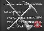 Image of coal mine Taylorville Illinois USA, 1932, second 5 stock footage video 65675078165