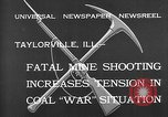 Image of coal mine Taylorville Illinois USA, 1932, second 8 stock footage video 65675078165