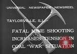 Image of coal mine Taylorville Illinois USA, 1932, second 9 stock footage video 65675078165