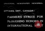 Image of international meet Ottawa Ontario Canada, 1932, second 1 stock footage video 65675078166