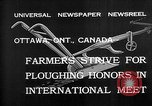 Image of international meet Ottawa Ontario Canada, 1932, second 4 stock footage video 65675078166
