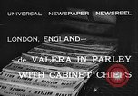 Image of Eamon de Valera London England United Kingdom, 1932, second 3 stock footage video 65675078169