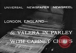 Image of Eamon de Valera London England United Kingdom, 1932, second 4 stock footage video 65675078169