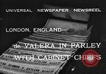 Image of Eamon de Valera London England United Kingdom, 1932, second 6 stock footage video 65675078169
