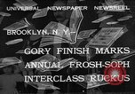Image of frosh-soph contest Brooklyn New York City USA, 1932, second 1 stock footage video 65675078171