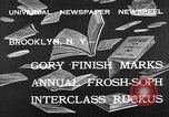 Image of frosh-soph contest Brooklyn New York City USA, 1932, second 4 stock footage video 65675078171