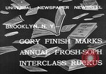 Image of frosh-soph contest Brooklyn New York City USA, 1932, second 8 stock footage video 65675078171