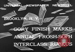 Image of frosh-soph contest Brooklyn New York City USA, 1932, second 9 stock footage video 65675078171
