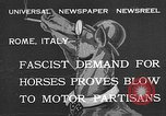 Image of Benito Mussolini Rome Italy, 1932, second 1 stock footage video 65675078172