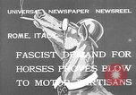 Image of Benito Mussolini Rome Italy, 1932, second 2 stock footage video 65675078172