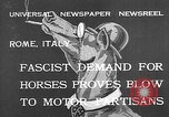 Image of Benito Mussolini Rome Italy, 1932, second 3 stock footage video 65675078172