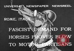 Image of Benito Mussolini Rome Italy, 1932, second 8 stock footage video 65675078172