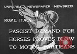 Image of Benito Mussolini Rome Italy, 1932, second 10 stock footage video 65675078172