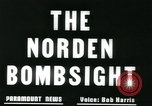 Image of Norden bomb sight European Theater, 1945, second 7 stock footage video 65675078192