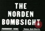 Image of Norden bomb sight European Theater, 1945, second 10 stock footage video 65675078192
