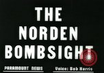 Image of Norden bomb sight European Theater, 1945, second 11 stock footage video 65675078192