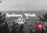 Image of civil defense exercise Spokane Washington USA, 1954, second 4 stock footage video 65675078212