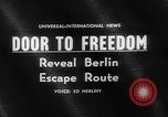 Image of underground tunnel Berlin Germany, 1962, second 2 stock footage video 65675078218