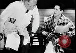 Image of doctor and TB patient at sanitorium United States USA, 1941, second 3 stock footage video 65675078236