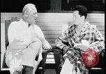 Image of doctor and TB patient at sanitorium United States USA, 1941, second 11 stock footage video 65675078236
