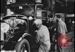 Image of Henry Ford with 1930's Ford sedans Dearborn Michigan USA, 1935, second 3 stock footage video 65675078249