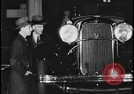 Image of Henry Ford with 1930's Ford sedans Dearborn Michigan USA, 1935, second 6 stock footage video 65675078249