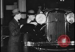 Image of Henry Ford with 1930's Ford sedans Dearborn Michigan USA, 1935, second 11 stock footage video 65675078249