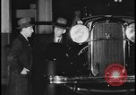 Image of Henry Ford with 1930's Ford sedans Dearborn Michigan USA, 1935, second 12 stock footage video 65675078249