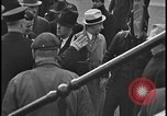 Image of Union organizers from UAW at Ford plant Dearborn Michigan  USA, 1938, second 2 stock footage video 65675078258
