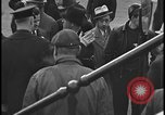 Image of Union organizers from UAW at Ford plant Dearborn Michigan  USA, 1938, second 4 stock footage video 65675078258