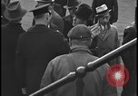 Image of Union organizers from UAW at Ford plant Dearborn Michigan  USA, 1938, second 6 stock footage video 65675078258
