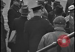 Image of Union organizers from UAW at Ford plant Dearborn Michigan  USA, 1938, second 10 stock footage video 65675078258