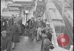 Image of Detroit railway rush hour commuters Detroit Michgan USA, 1932, second 1 stock footage video 65675078265