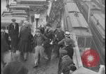 Image of Detroit railway rush hour commuters Detroit Michgan USA, 1932, second 2 stock footage video 65675078265