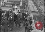 Image of Detroit railway rush hour commuters Detroit Michgan USA, 1932, second 3 stock footage video 65675078265