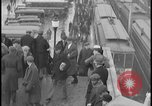 Image of Detroit railway rush hour commuters Detroit Michgan USA, 1932, second 4 stock footage video 65675078265