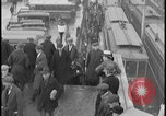 Image of Detroit railway rush hour commuters Detroit Michgan USA, 1932, second 5 stock footage video 65675078265