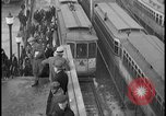 Image of Detroit railway rush hour commuters Detroit Michgan USA, 1932, second 6 stock footage video 65675078265