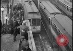 Image of Detroit railway rush hour commuters Detroit Michgan USA, 1932, second 7 stock footage video 65675078265