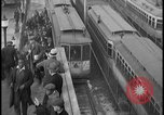 Image of Detroit railway rush hour commuters Detroit Michgan USA, 1932, second 8 stock footage video 65675078265