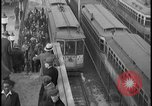 Image of Detroit railway rush hour commuters Detroit Michgan USA, 1932, second 9 stock footage video 65675078265