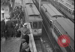 Image of Detroit railway rush hour commuters Detroit Michgan USA, 1932, second 10 stock footage video 65675078265
