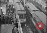 Image of Detroit railway rush hour commuters Detroit Michgan USA, 1932, second 11 stock footage video 65675078265