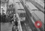 Image of Detroit railway rush hour commuters Detroit Michgan USA, 1932, second 12 stock footage video 65675078265
