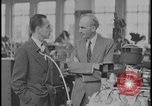 Image of Henry Ford and Edsel Ford Dearborn Michigan USA, 1932, second 4 stock footage video 65675078266