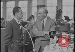 Image of Henry Ford and Edsel Ford Dearborn Michigan USA, 1932, second 5 stock footage video 65675078266