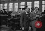 Image of Henry Ford and Edsel Ford Dearborn Michigan USA, 1932, second 11 stock footage video 65675078266