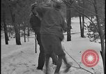 Image of Ford Executive Harry Bennett and friends frolic in snow Tawas Michigan USA, 1924, second 8 stock footage video 65675078270